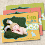 Happy Easter Custom Photo Card