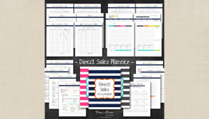 Direct Sales Printable Planner