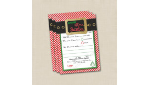Dear Santa Letter Printable File